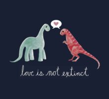 Love Is Not Extinct Kids Tee