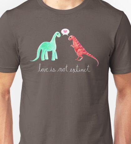 Love Is Not Extinct Unisex T-Shirt