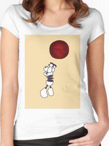 THE CONSTRUCTUS CORPORATION THE ZIGGURAT Women's Fitted Scoop T-Shirt