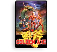 Golden Axe Canvas Print
