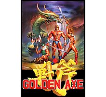Golden Axe Photographic Print