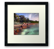 Calender 2014 - Cape Nightscape Framed Print