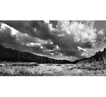Cloud Formations Over a Swamp Photographic Print