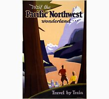 Vintage Pacific Northwest Wonderland Travel Unisex T-Shirt