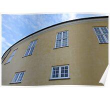 Fredericksberg Castle Architectural Detail Copenhagen Poster