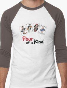 Four of a Kind Men's Baseball ¾ T-Shirt