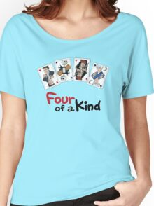 Four of a Kind Women's Relaxed Fit T-Shirt