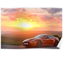 AstonMartin V12 Vantage Poster