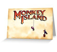 Monkey Island - Treasure found! Greeting Card