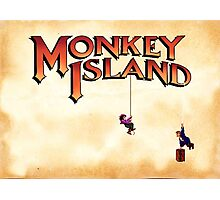 Monkey Island - Treasure found! Photographic Print