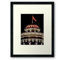 Nightfall in Skopje Framed Print