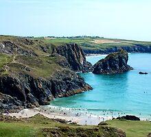 Lizard Coast, Cornwall by Ludwig Wagner