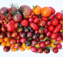 Tomatoes Are Red by Irina Chuckowree