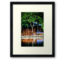 Small Wooden House Framed Print