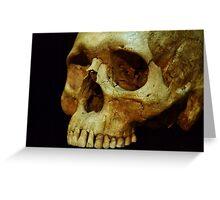 Human Skull - Science Museum Greeting Card