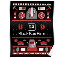 Black Box Films Christmas Sweater (Red) Poster
