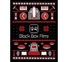Black Box Films Christmas Sweater (Red) Photographic Print