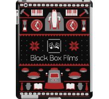 Black Box Films Christmas Sweater (Red) iPad Case/Skin