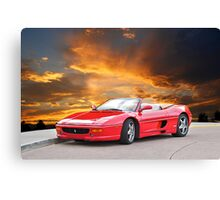 1999 Ferrari F355 Spider II Canvas Print