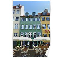 Nyhavn Cafe Copenhagen Poster