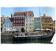 Sailing Ship Nyhavn Copenhagen Poster