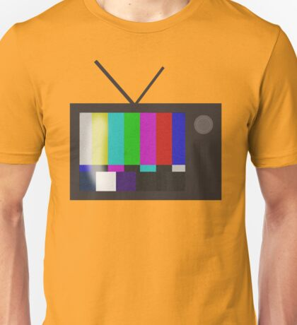 Ec-static Television Unisex T-Shirt