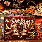 London Graffiti - Graffiti Tunnel by Jessica Reilly