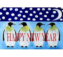 HAPPY NEW YEAR 5 Photographic Print