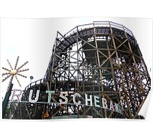 Bakken Amusement Park Copenhagen Poster