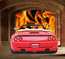 1999 Ferrari F355 Spider by DaveKoontz
