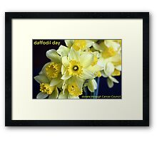 Daffodil Day Framed Print