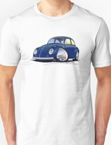 VW Beetle Dark Blue T-Shirt