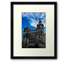 Castle of the three Dragons Framed Print