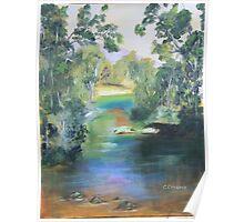 River Retreat  Poster
