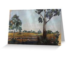 The Outback  Greeting Card