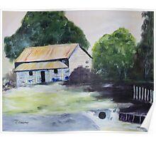 Shelford Cottage Poster