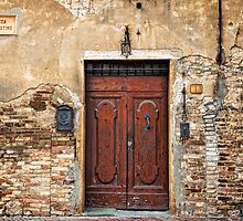 Piazza San Agostino, San Gimignano by dgt0011