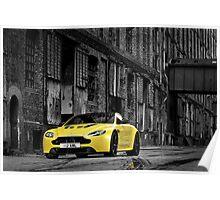 The new Aston Martin V12 Vantage S Poster
