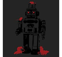 Robots and Nature Photographic Print