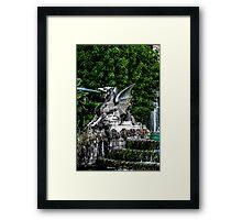Stone Dragon Framed Print