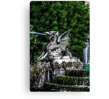 Stone Dragon Canvas Print