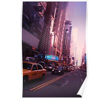The City Streets (NYC SERIES) Poster
