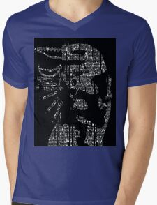 Glitch Mens V-Neck T-Shirt