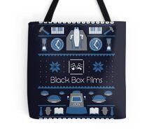 Black Box Films Christmas Sweater (Blue) Tote Bag