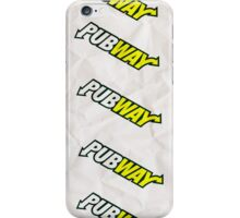 PUBWAY! iPhone Case/Skin