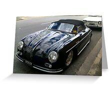 Classic Porsche Greeting Card