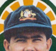 As Tasmanian as Ricky Ponting Sticker