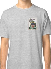 As Tasmanian as Ricky Ponting (breast pocket) Classic T-Shirt