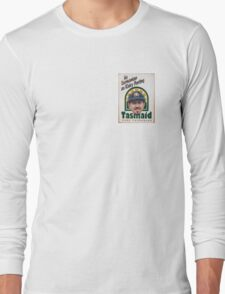 As Tasmanian as Ricky Ponting (breast pocket) Long Sleeve T-Shirt