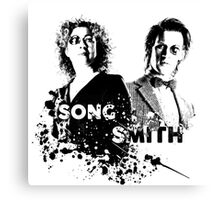 The Doctor & River Song  Canvas Print